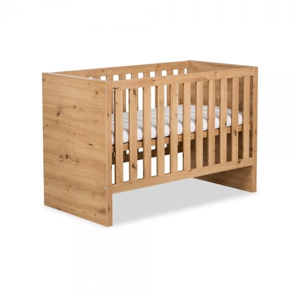 KLUPS Dětská postel AMELIE dub - 120x60