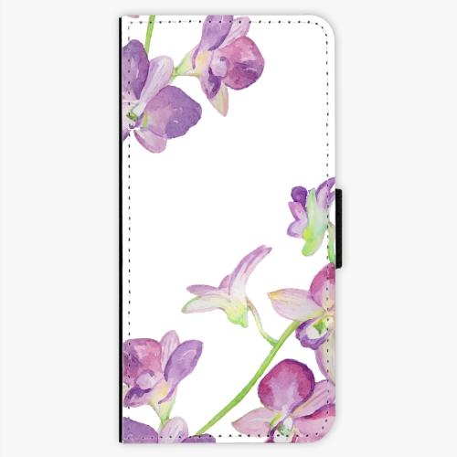 Flipové pouzdro iSaprio - Purple Orchid - LG G6 (H870)