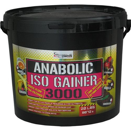Anabolic Iso Gainer - 9100g-cokolada