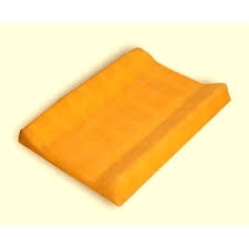 Jersey potah na přebalovací podložku oranžový