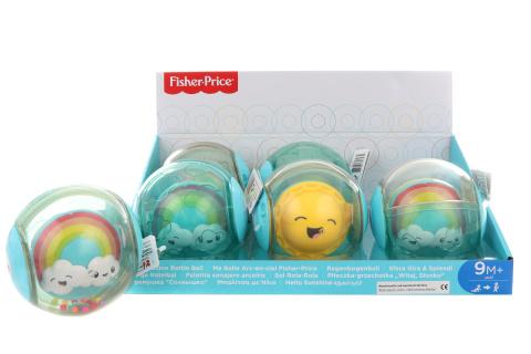 Fisher Price Chrastítko duhová kulička FYL41