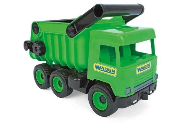 auto-middle-truck-sklapec-plast-36cm-zeleny-v-krabici-wader