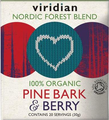 Viridian Pine Bark + Berry Organic - BIO 30g