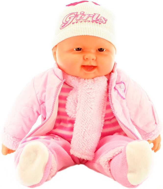 Panenka miminko velké 55cm holčička měkké tělíčko v oblečku