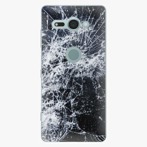 Plastový kryt iSaprio - Cracked - Sony Xperia XZ2 Compact