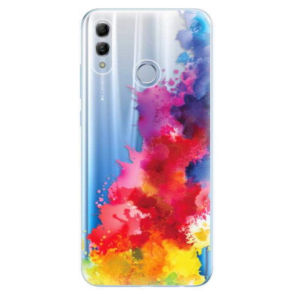 Odolné silikonové pouzdro iSaprio - Color Splash 01 - Huawei Honor 10 Lite
