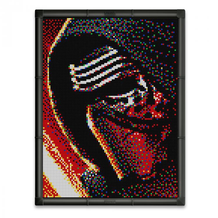 Quercetti Pixel Art 9 Star Wars Kylo Ren 0849 11.400 ks
