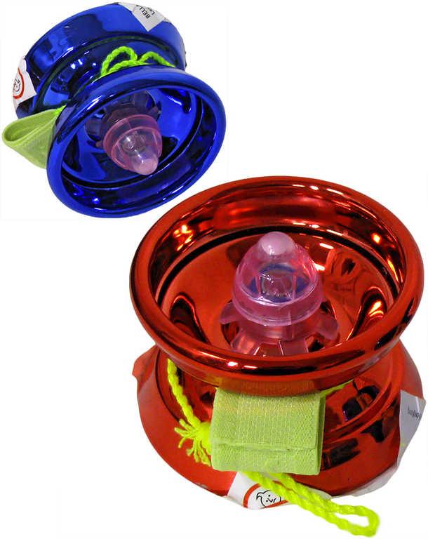 Jo-Jo kovové 5,5cm jojo - 3 barvy