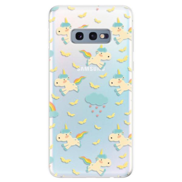 Odolné silikonové pouzdro iSaprio - Unicorn pattern 01 - Samsung Galaxy S10e