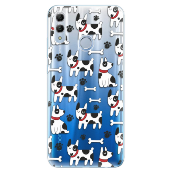 Odolné silikonové pouzdro iSaprio - Dog 02 - Huawei Honor 10 Lite