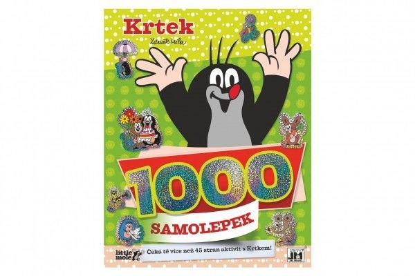 Samolepková knížka Krtek a aktivity 1000 samolepek 22x28cm