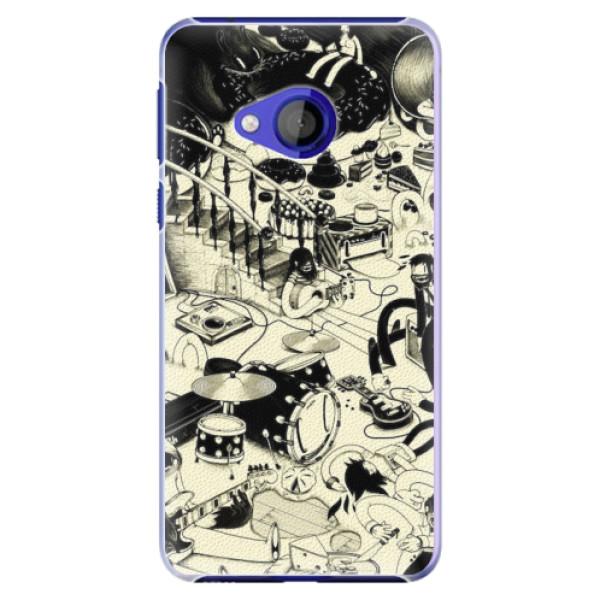 Plastové pouzdro iSaprio - Underground - HTC U Play