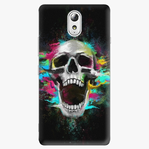 Plastový kryt iSaprio - Skull in Colors - Lenovo P1m