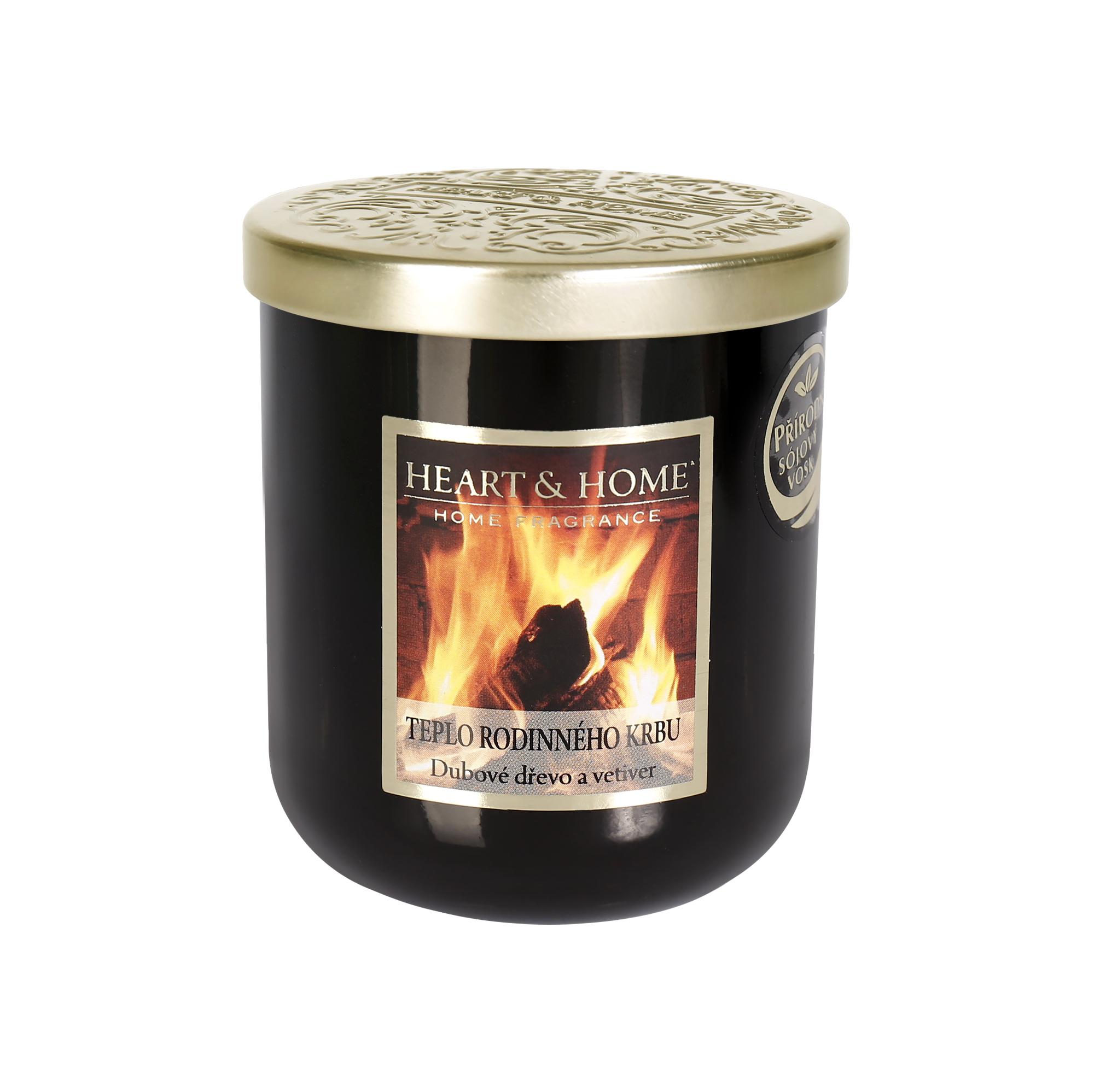 Střední svíčka - Teplo rodinného krbu