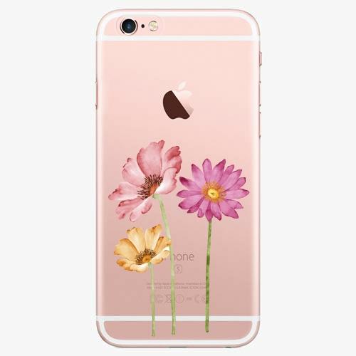 Plastový kryt iSaprio - Three Flowers - iPhone 6 Plus/6S Plus