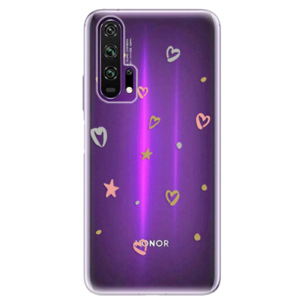 Odolné silikonové pouzdro iSaprio - Lovely Pattern - Honor 20 Pro