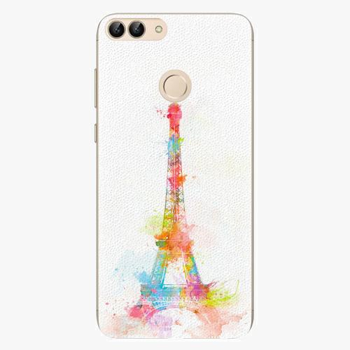 Silikonové pouzdro iSaprio - Eiffel Tower - Huawei P Smart