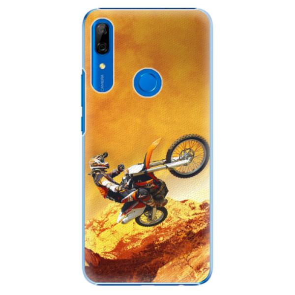 Plastové pouzdro iSaprio - Motocross - Huawei P Smart Z