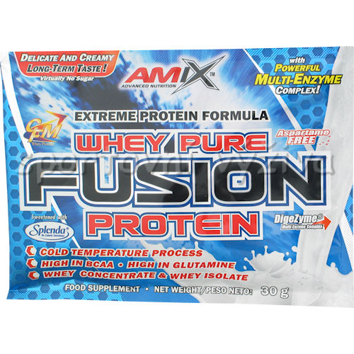 Whey Pure Fusion Protein 30g - sáček-strawberry