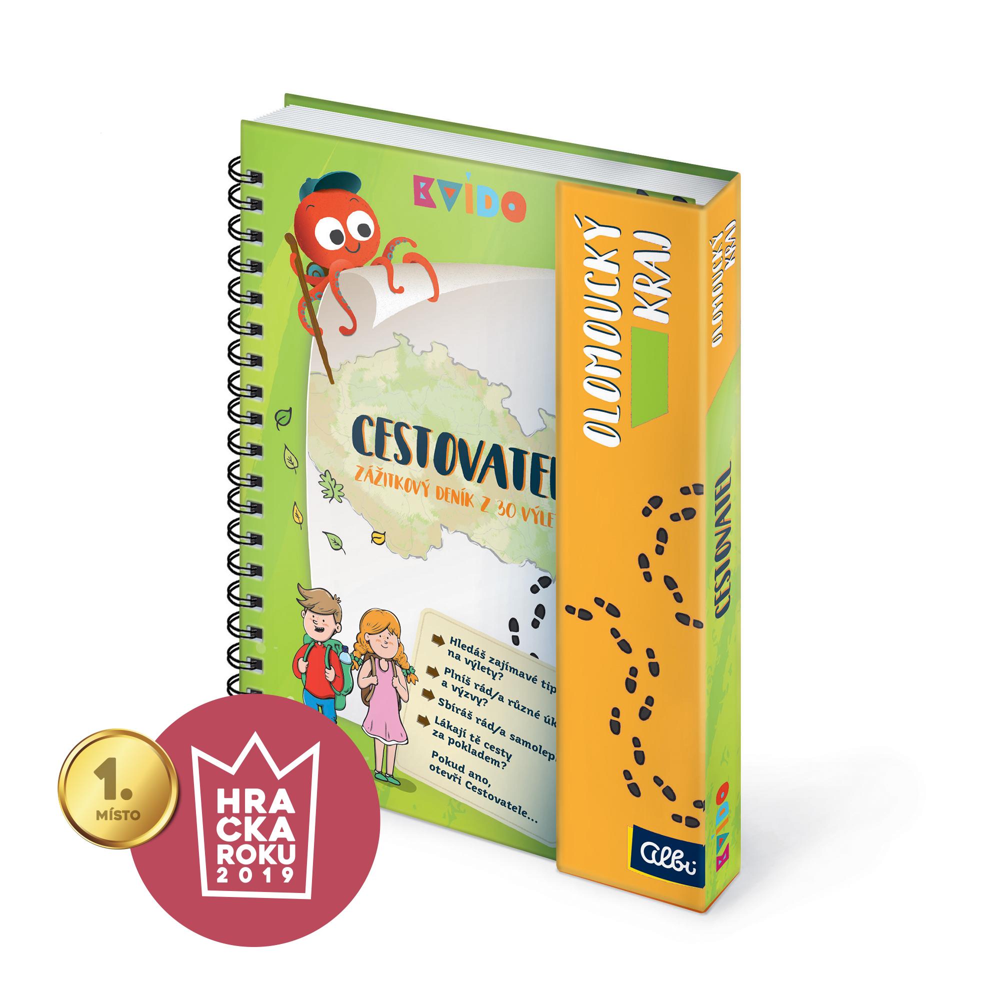 Zážitkové deníky - Kvído - Olomoucký zážitkový deník