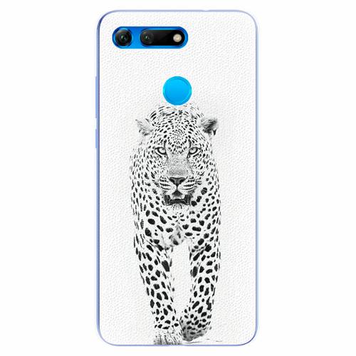 Silikonové pouzdro iSaprio - White Jaguar - Huawei Honor View 20