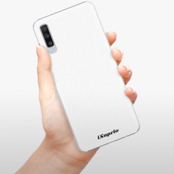 Plastové pouzdro iSaprio - 4Pure - bílý - Samsung Galaxy A70