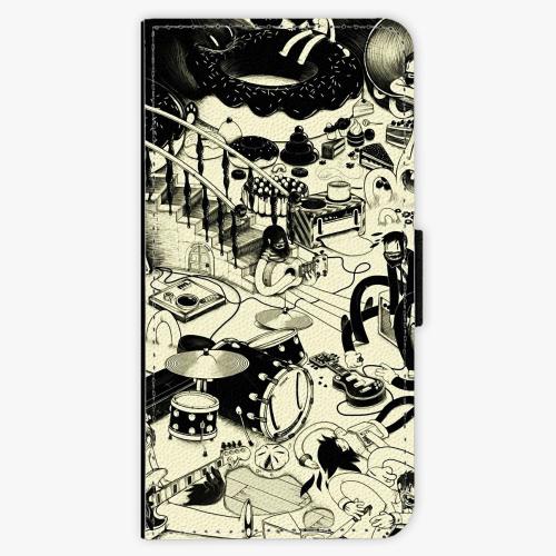 Flipové pouzdro iSaprio - Underground - iPhone 5/5S/SE