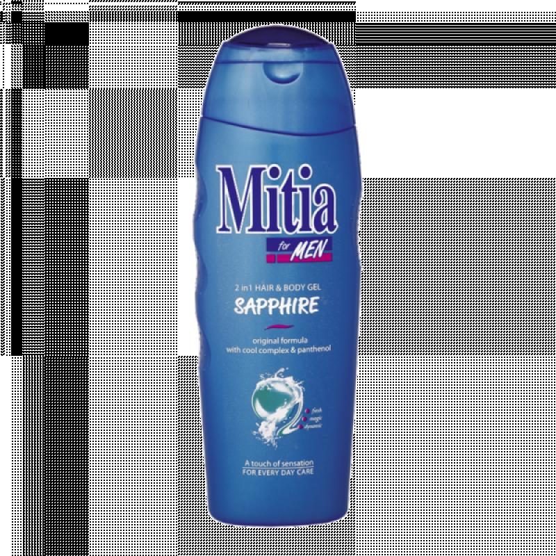 Men Sapphire 2v1 sprchový gel a šampon na vlasy 400 ml
