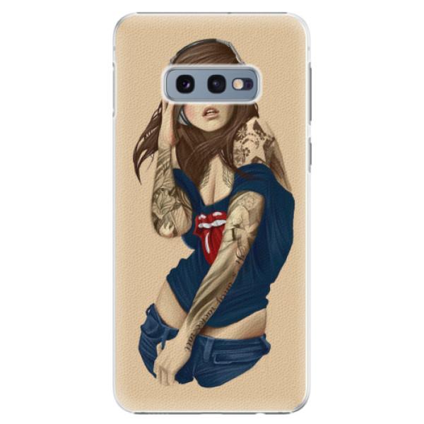 Plastové pouzdro iSaprio - Girl 03 - Samsung Galaxy S10e