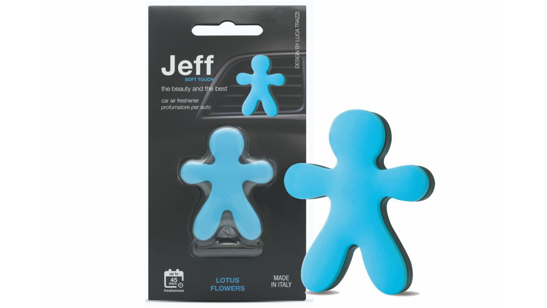 JEFF air freshener blue soft - Lotus flowers