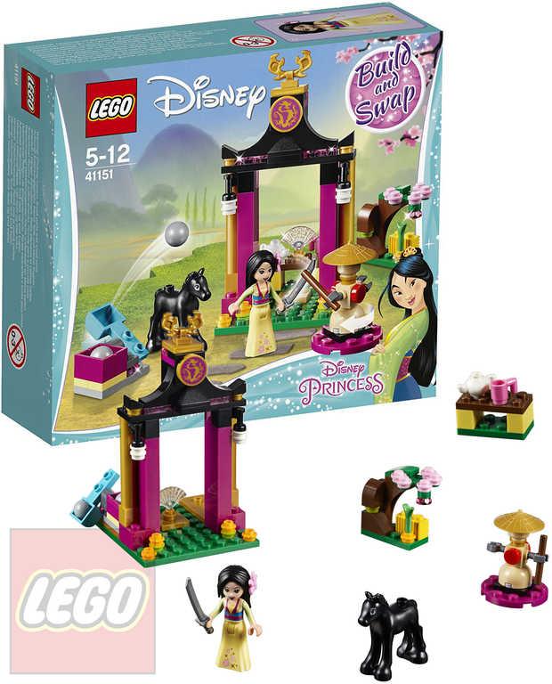 LEGO PRINCESS Mulan a její tréninkový den 41151