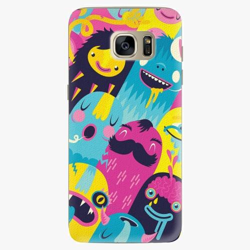 Plastový kryt iSaprio - Monsters - Samsung Galaxy S7 Edge