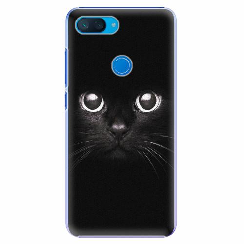Plastový kryt iSaprio - Black Cat - Xiaomi Mi 8 Lite