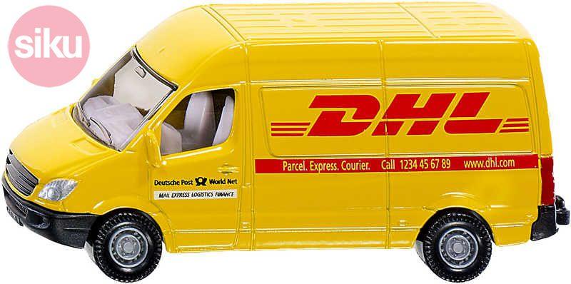 SIKU Dodávka poštovní Mercedes Sprinter DHL KOV