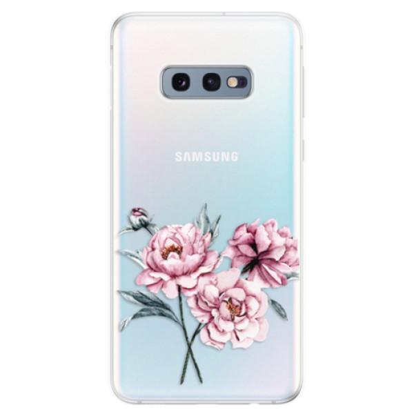 Odolné silikonové pouzdro iSaprio - Poeny - Samsung Galaxy S10e