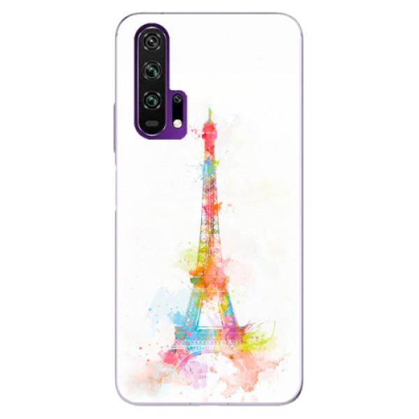 Odolné silikonové pouzdro iSaprio - Eiffel Tower - Honor 20 Pro