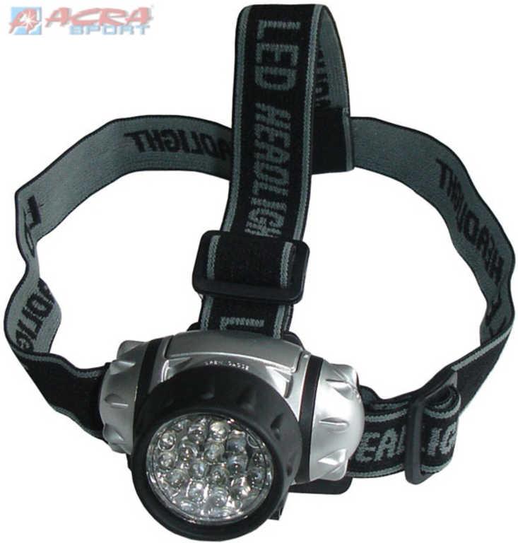 ACRA Svítilna čelovka 21 LED