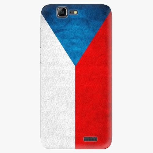 Plastový kryt iSaprio - Czech Flag - Huawei Ascend G7