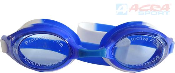 ACRA Plavecké brýle dětské Brother anti-fog silikon modré