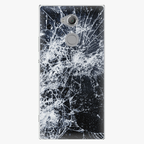 Plastový kryt iSaprio - Cracked - Sony Xperia XA2 Ultra