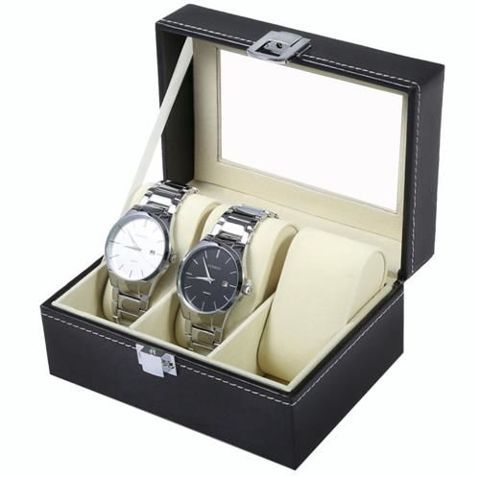 Organizér na hodinky a bižuterii - 3 přihrádky