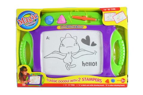 Kreslící tabulka s magnety