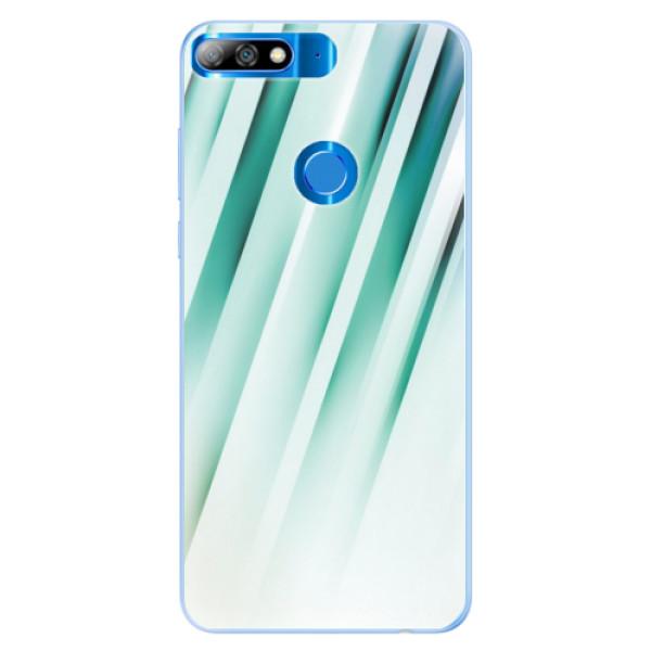 Silikonové pouzdro iSaprio - Stripes of Glass - Huawei Y7 Prime 2018