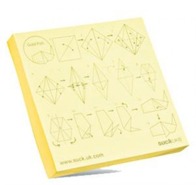 Poznámkový bloček origami