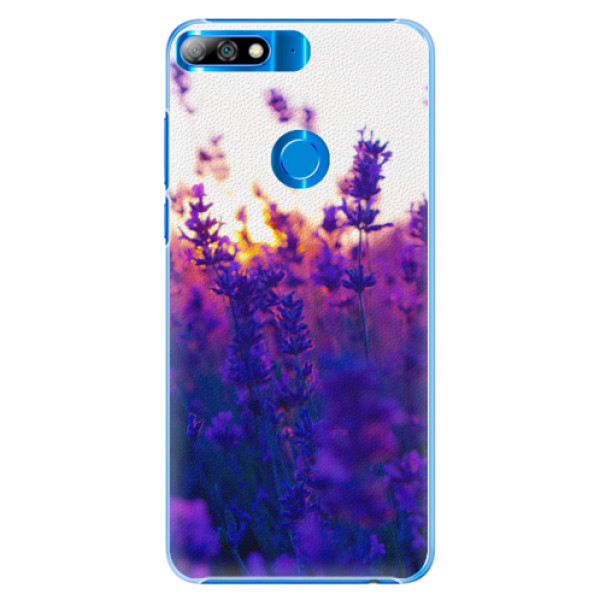 Plastové pouzdro iSaprio - Lavender Field - Huawei Y7 Prime 2018