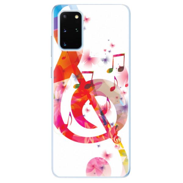 Odolné silikonové pouzdro iSaprio - Love Music - Samsung Galaxy S20+