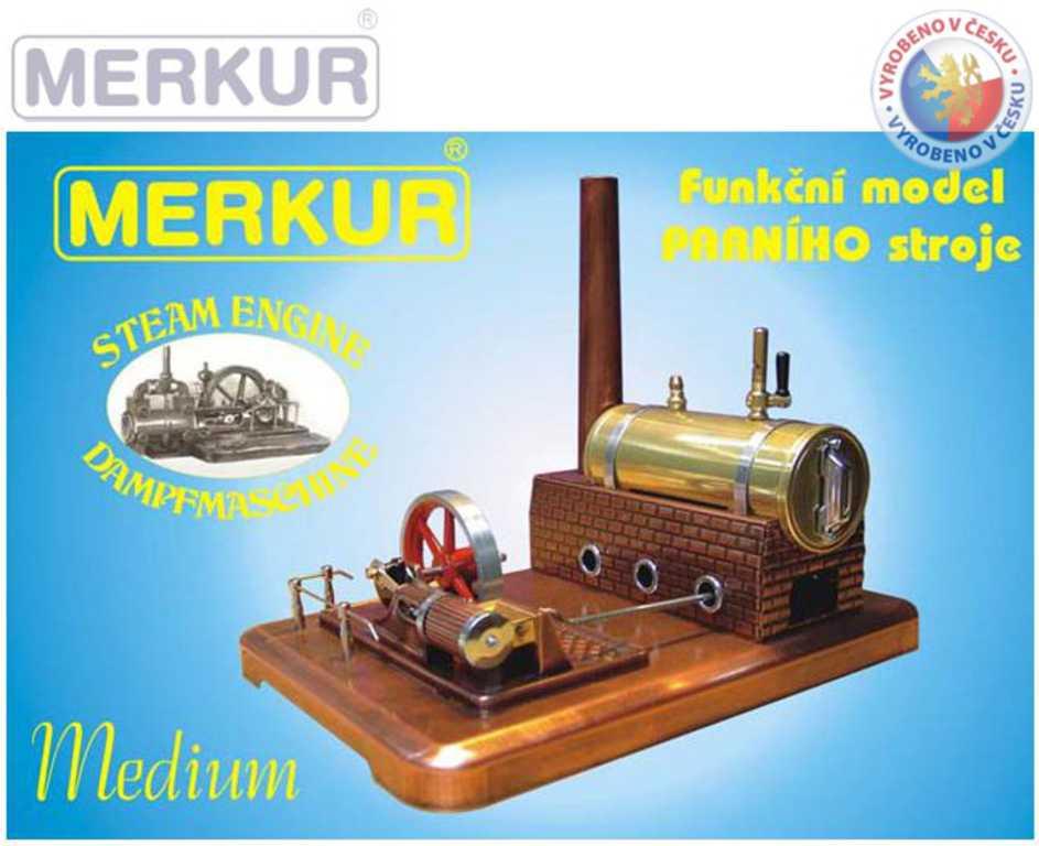 MERKUR Parní stroj Medium model