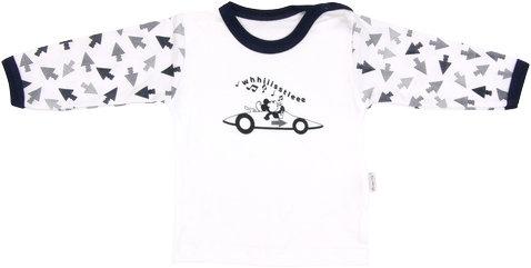 Mamatti Bavlněné tričko Arrow - dlouhý rukáv, vel. 86 - 86 (12-18m)