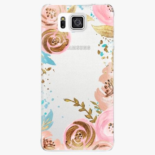 Plastový kryt iSaprio - Golden Youth - Samsung Galaxy Alpha