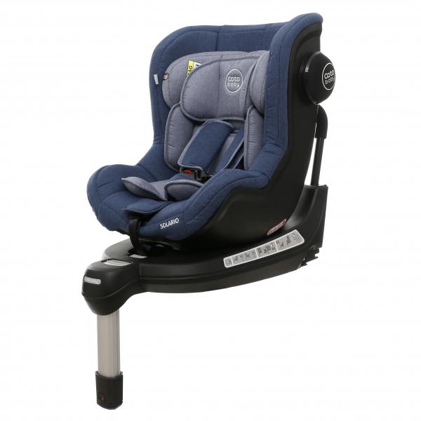 Coto Baby Autosedačka Solario s 360 ° otáčením, ISOFIX systémem, protisměr, 0-18 kg, blue